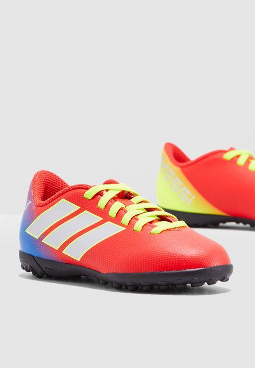 90e5dde59 حذاء نميزيز ميسي 18.4 للاسطح العشبية. اديداس
