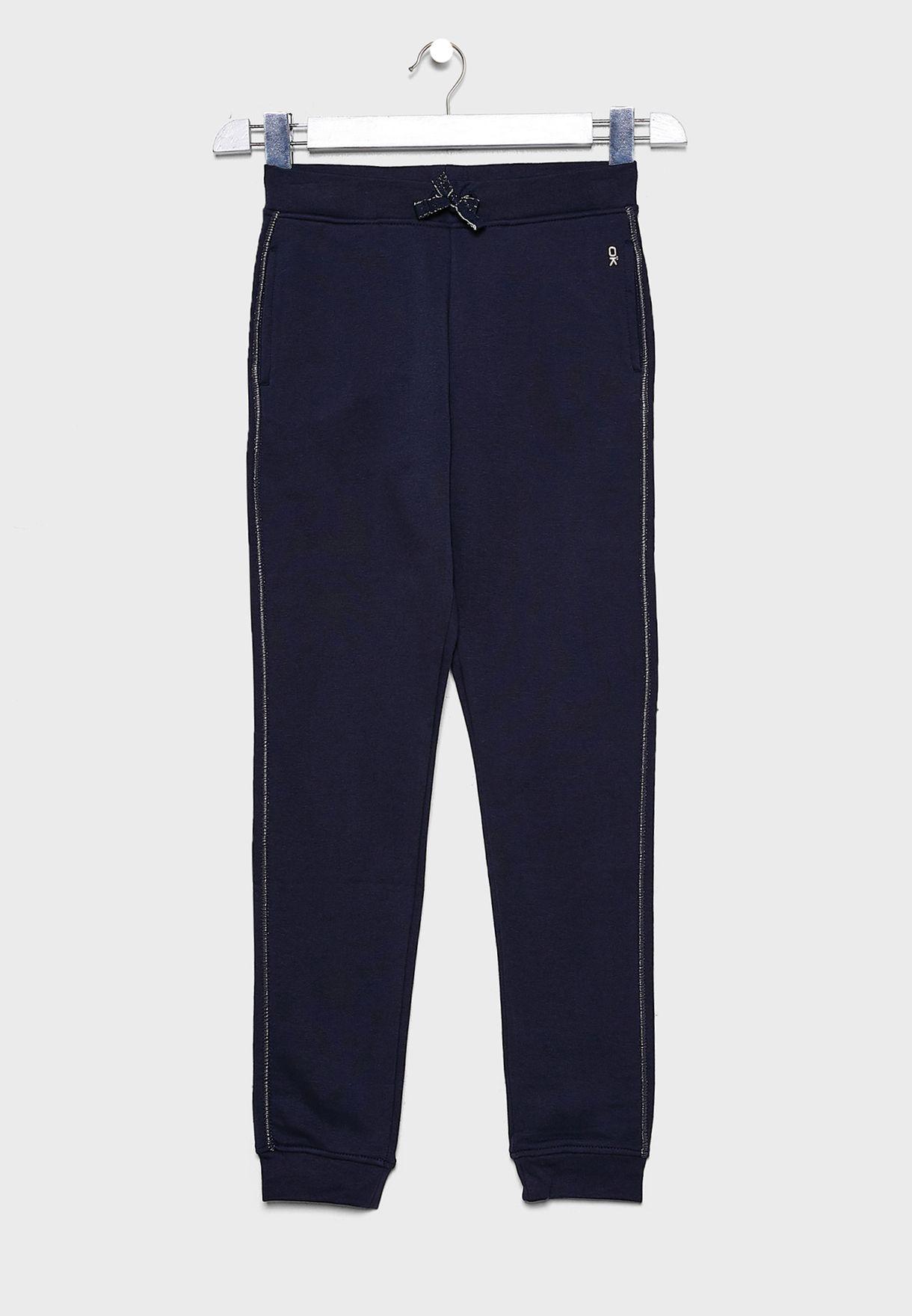 Teen Tie Waist Sweatpants