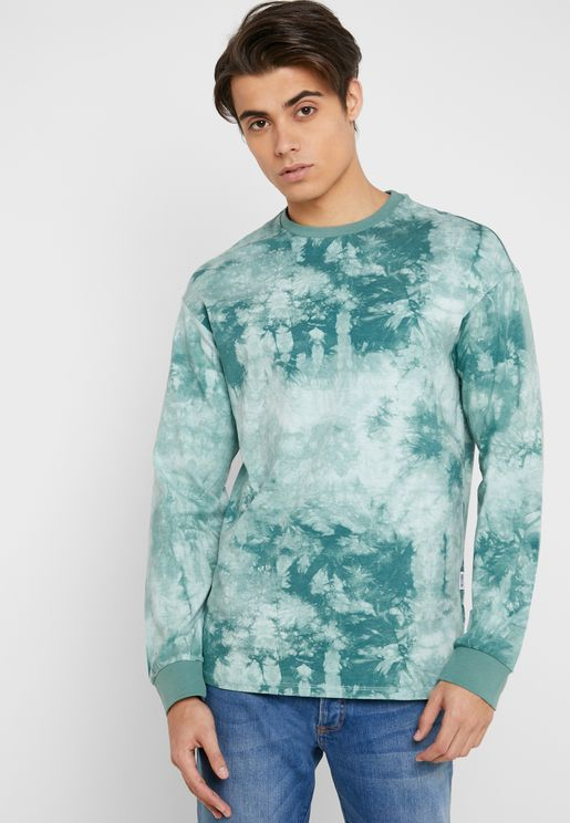 Kenta Tie Die Crew Neck T-Shirt