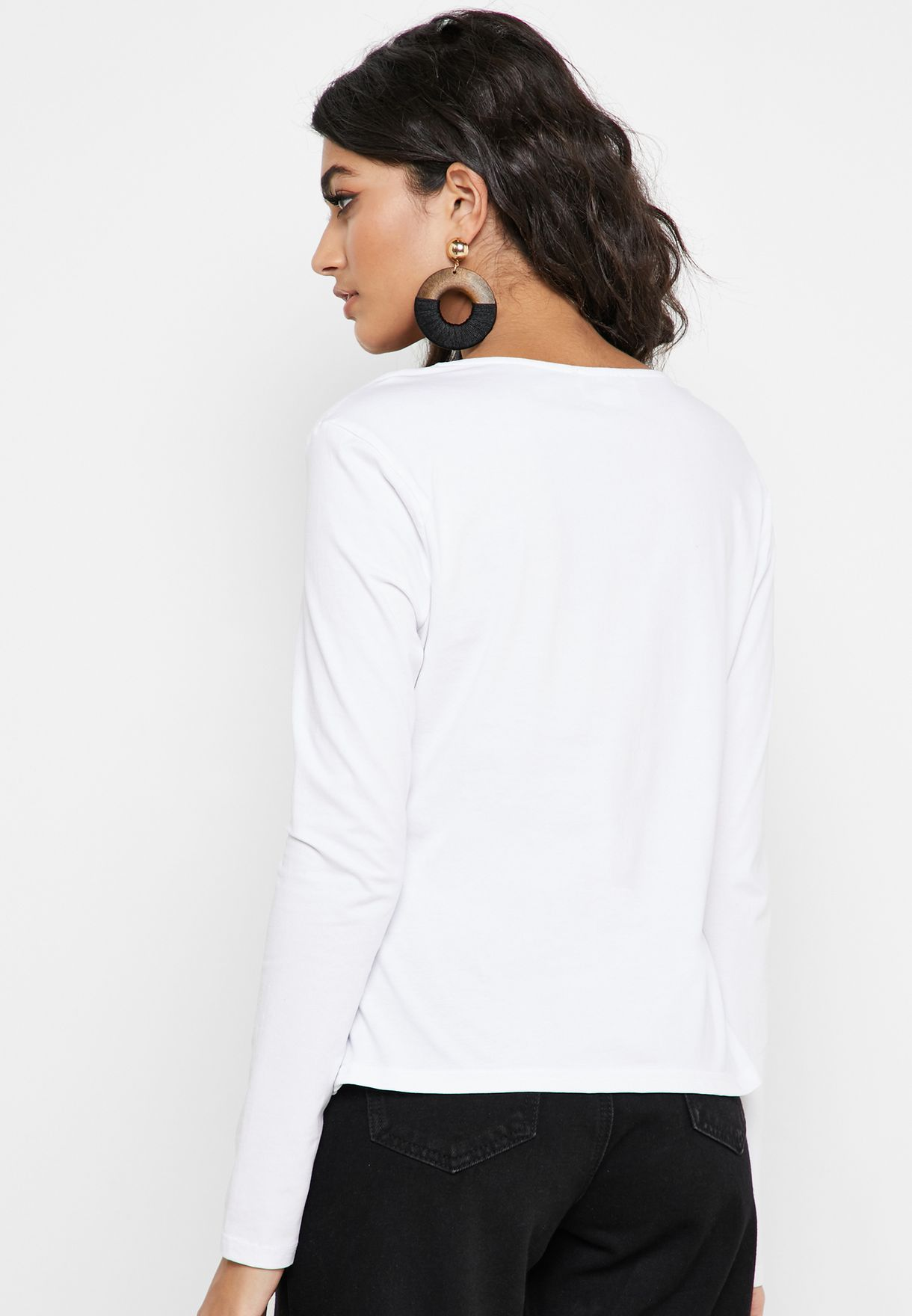 Square Neck Ruched Detail Top