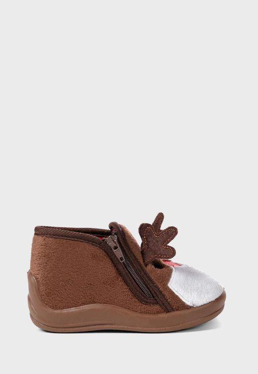 Infant Reindeer Slip On