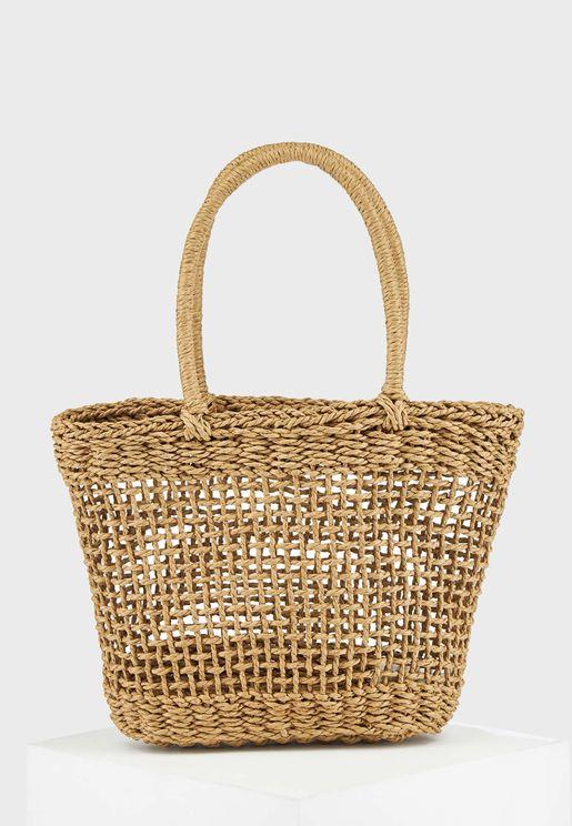 Narrow Strap Shoppers & Tote Bag