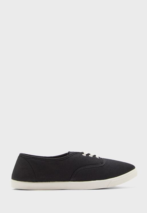 Casual Lace Up Slip On