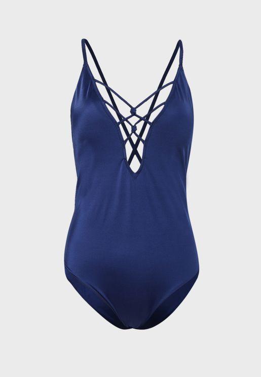 Strap Detail Swimsuit