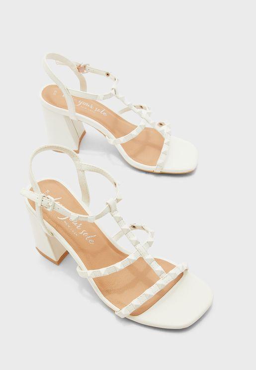 Staffy Stud Multistrap Sandal