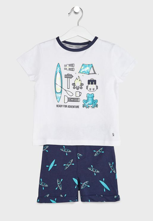 Kids Graphic Pyjama Set