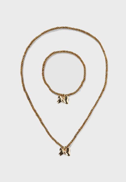 Kids Assorted Necklace & Bracelet Set