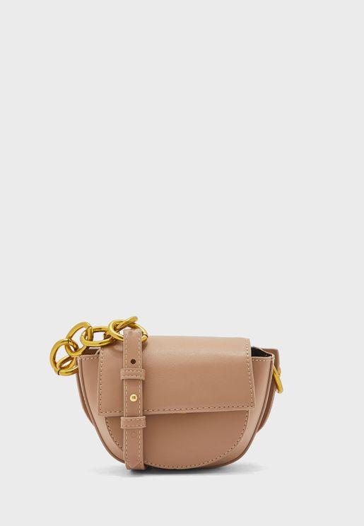 Half Moon Cross body Handbag