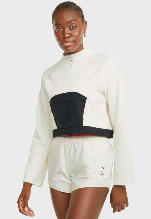 First Mile Mock Neck Sweatshirt
