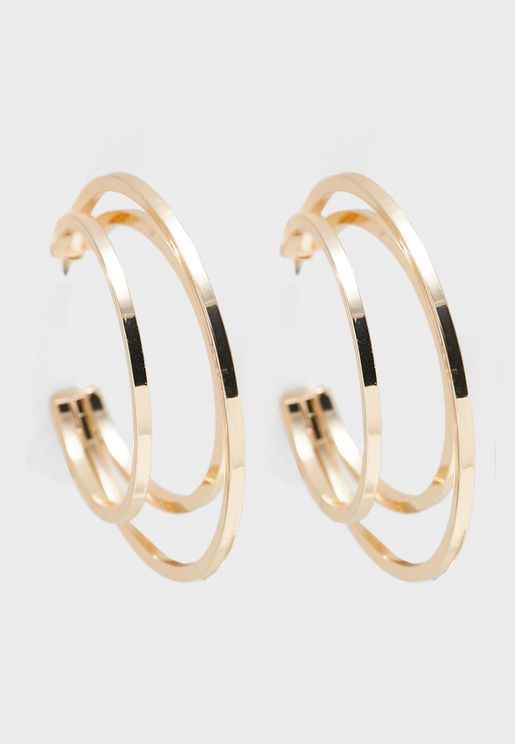 Barzava Hoop Earrings
