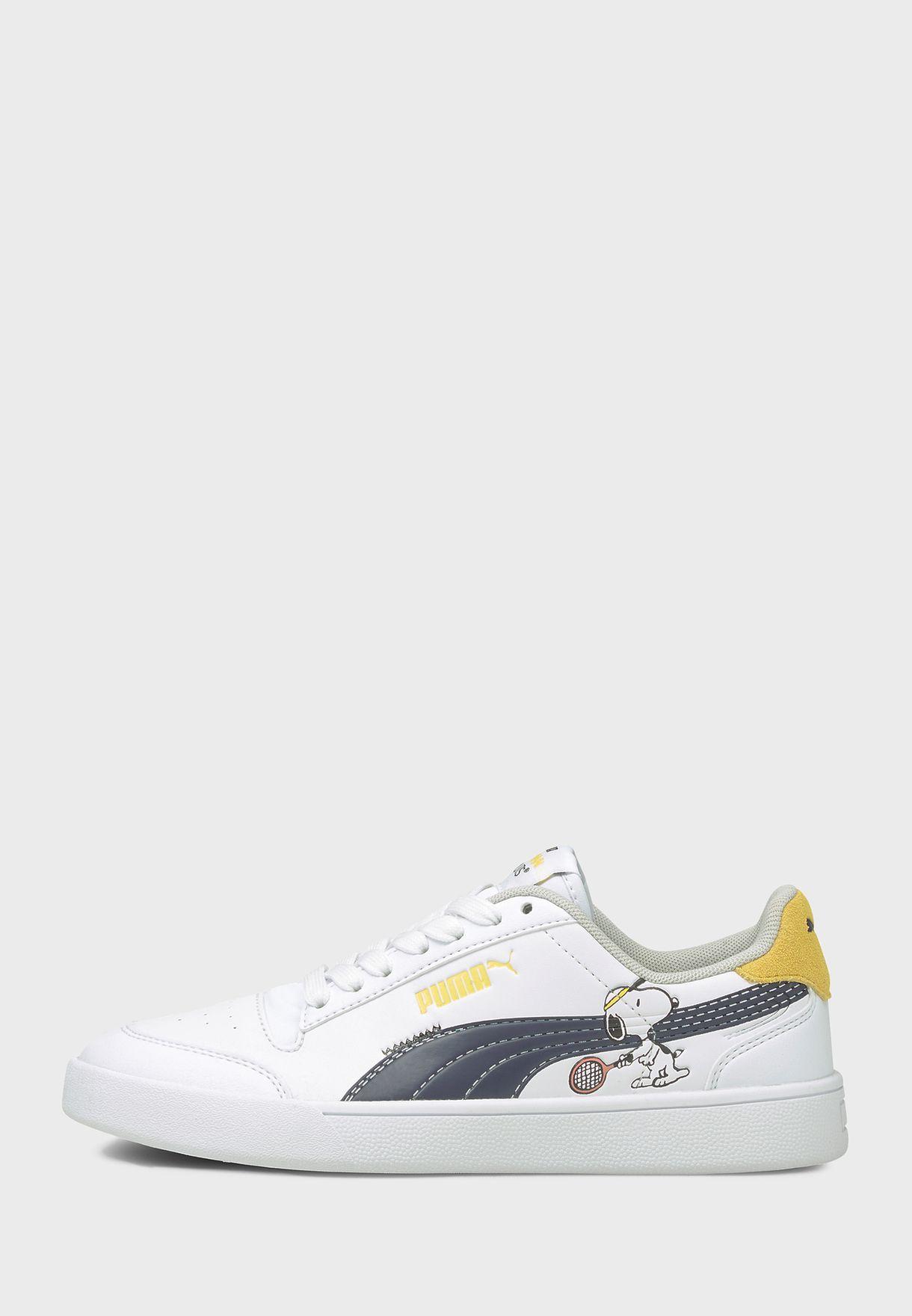 PUMA x PEANUTS kids shoes