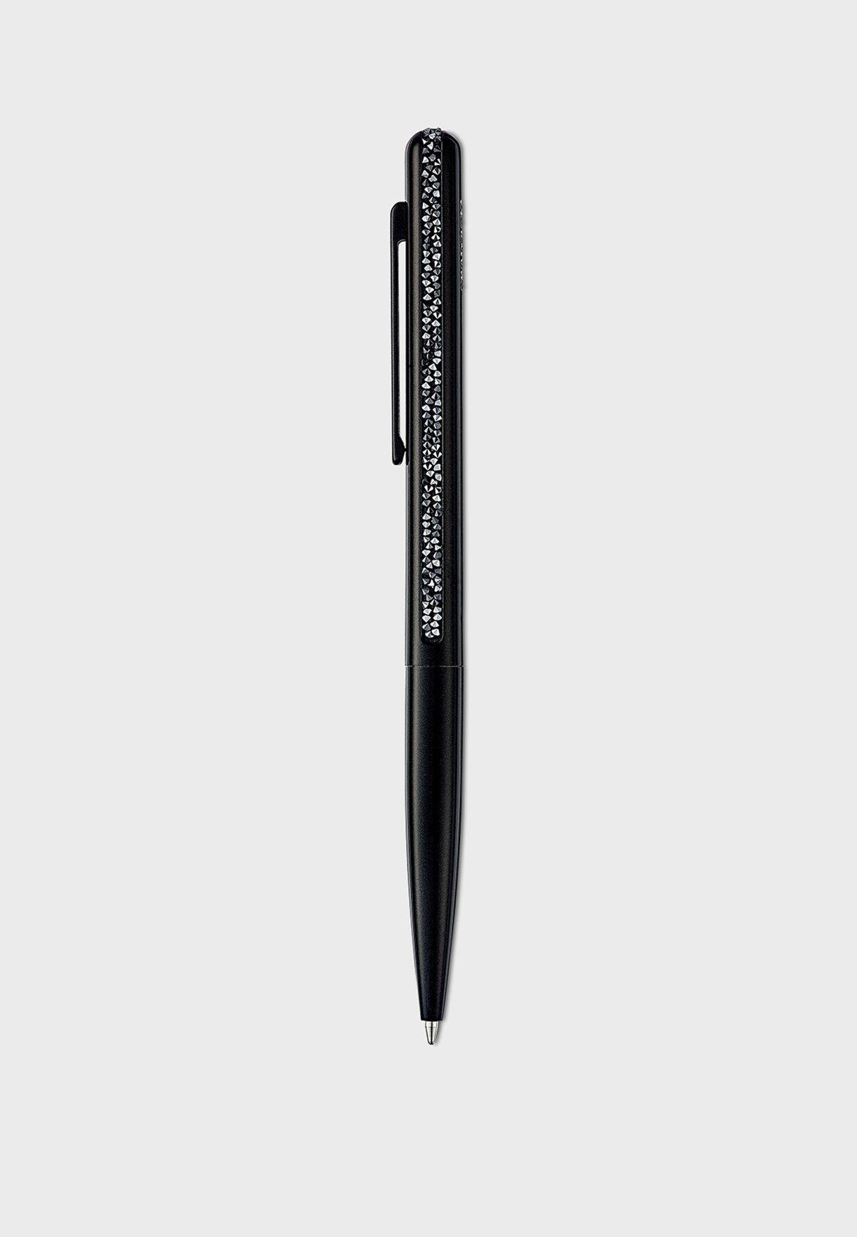 قلم حبر بكريستال براق