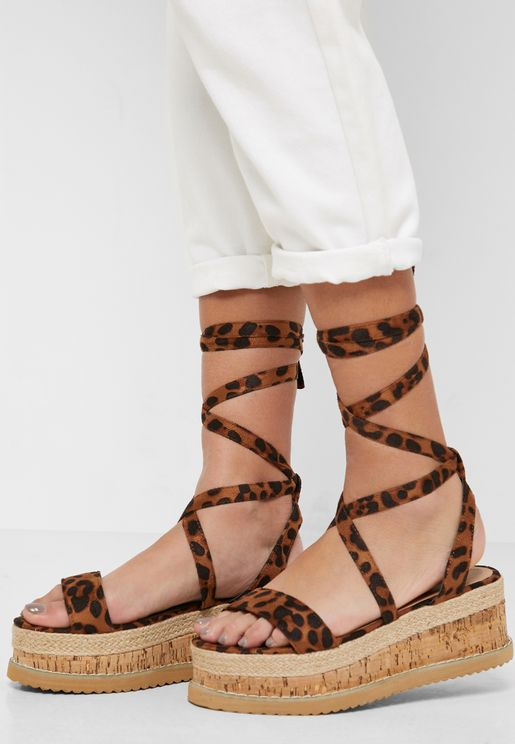 Charlie Wedge Sandal