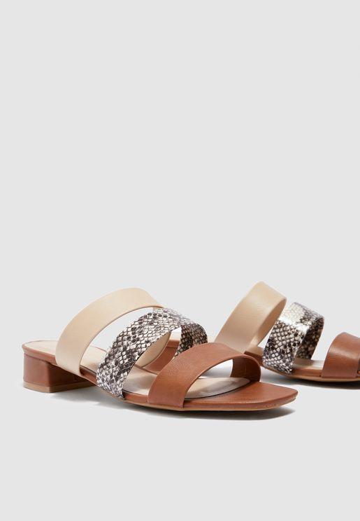 0abedeed6a Mid-Heel Sandals for Women | Mid-Heel Sandals Online Shopping in ...