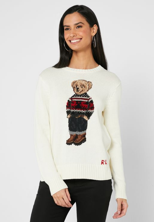 Graphic Knitted Sweater
