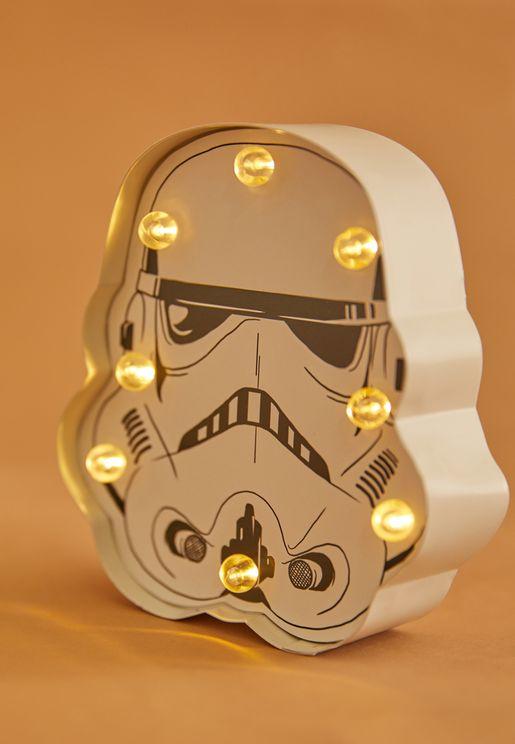 Star Wars Storm Trooper Mini Marquee Light