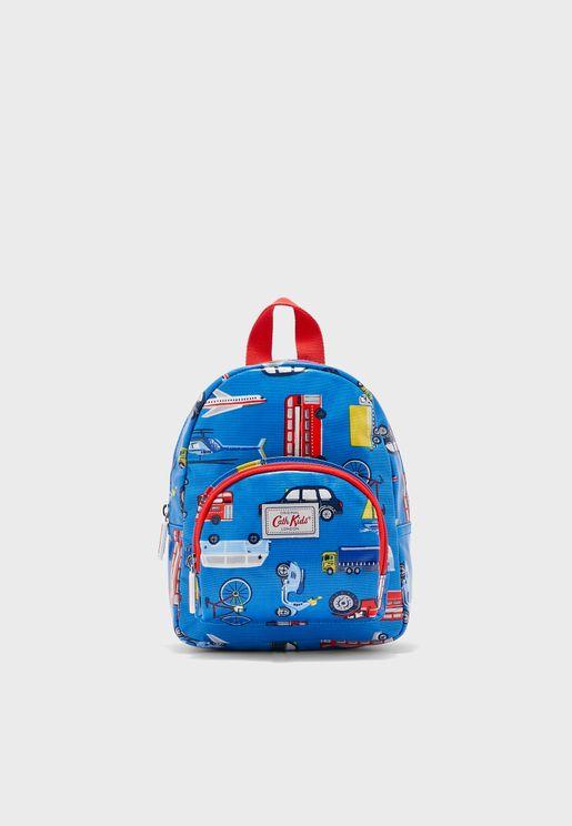 Kids Automobile Backpack