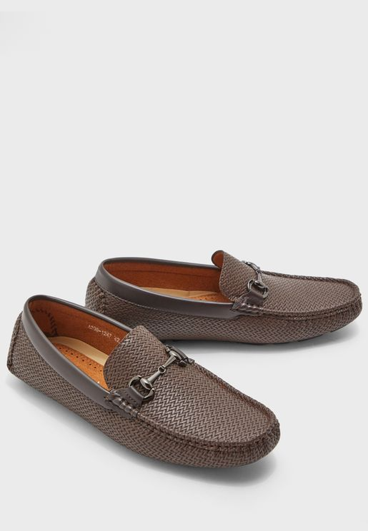 Texture Driver Moccasins