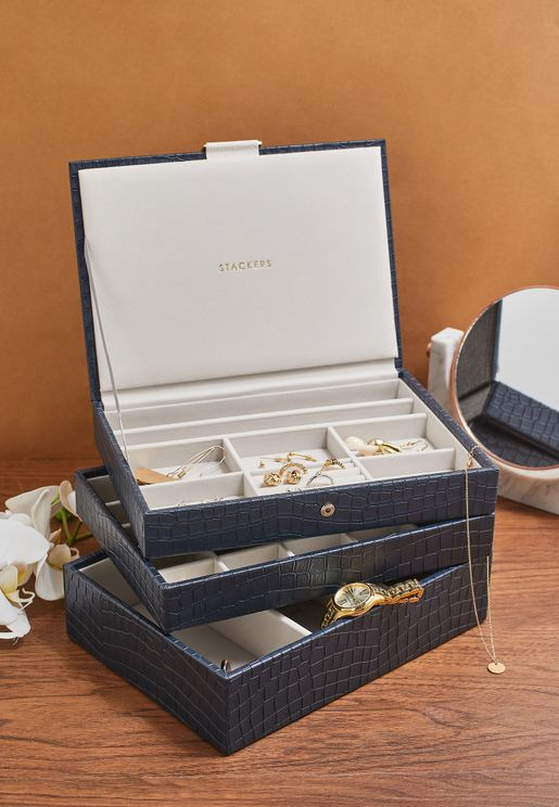 Set of 3 Classic Jewellery Box