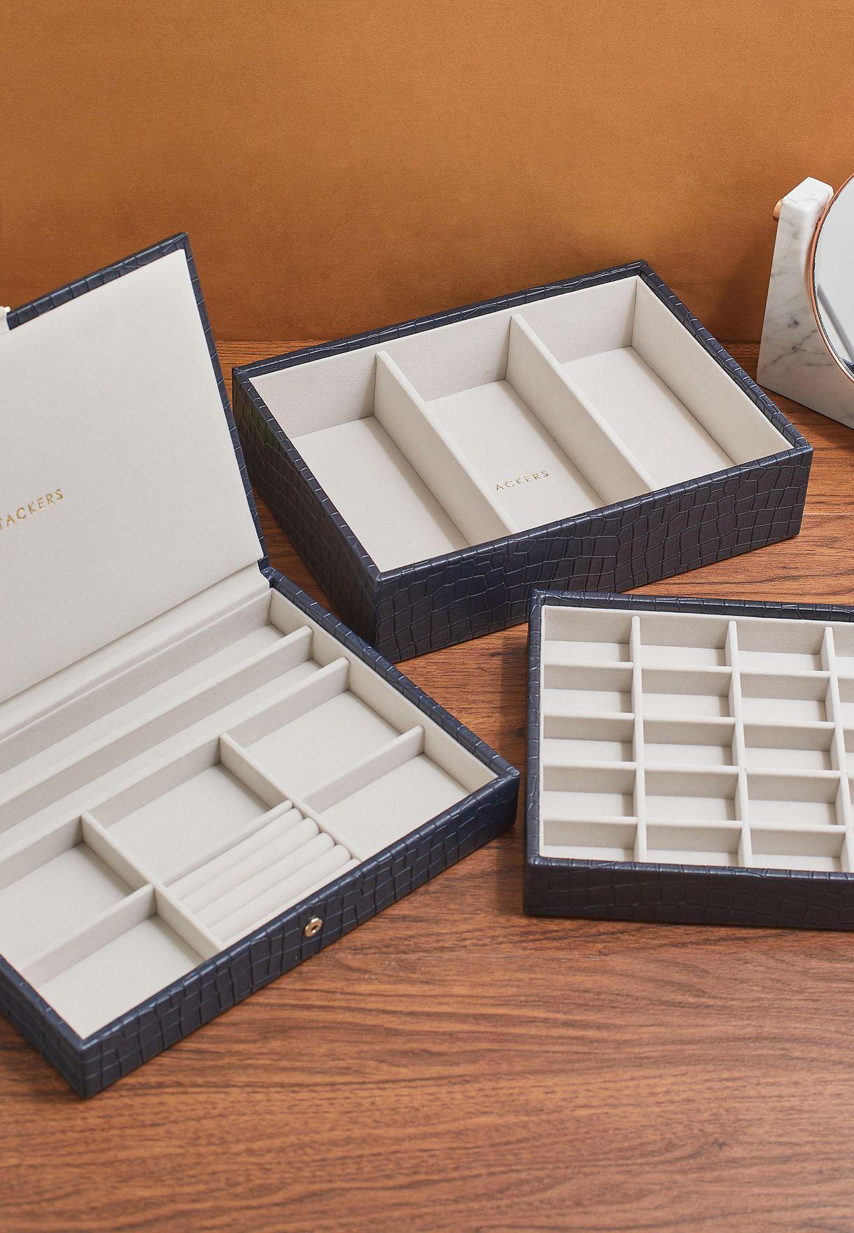 Set of 3 Classic Jewellery Box
