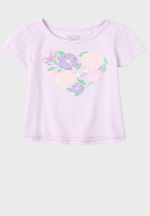 Baby Unicorn Printed Blouse