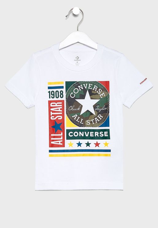 Camo Box T-Shirt