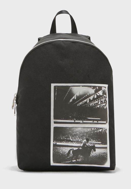 Warhol Printed Backpack