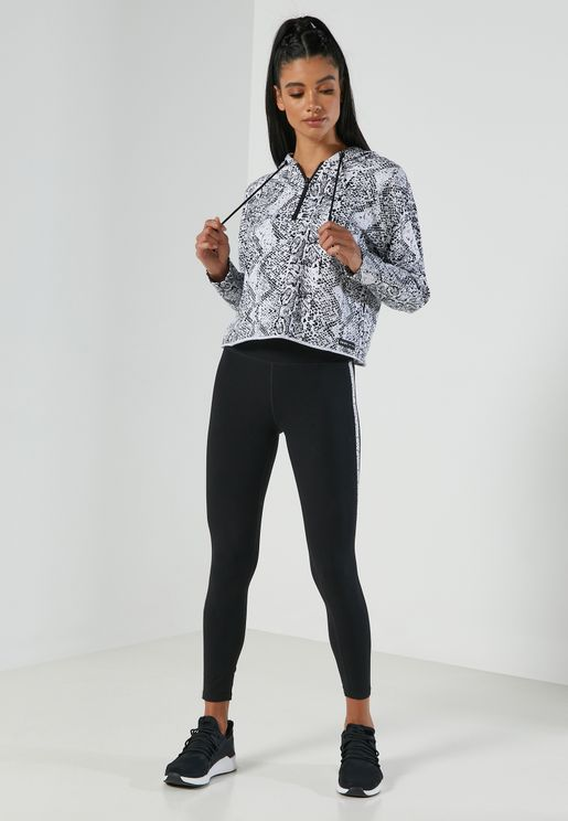 Logo High Waist Leggings