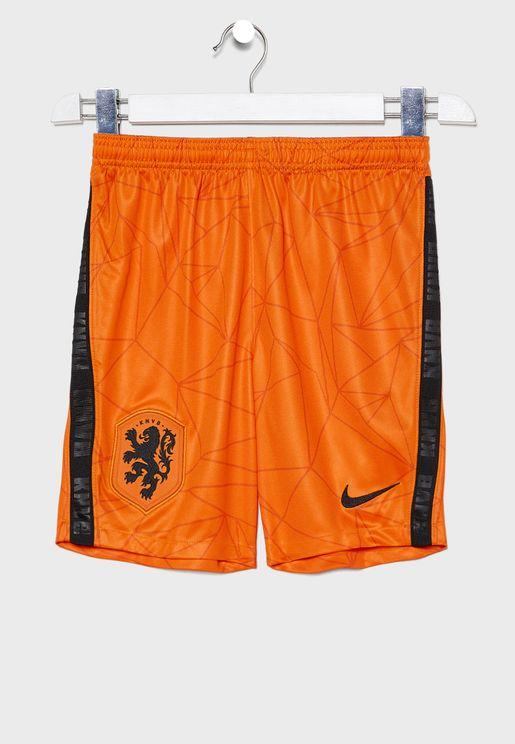 Youth Netherlands Stadium Home Shorts