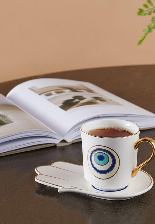 Eye Mug & Saucer