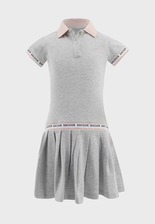 Kids Pleated Dress
