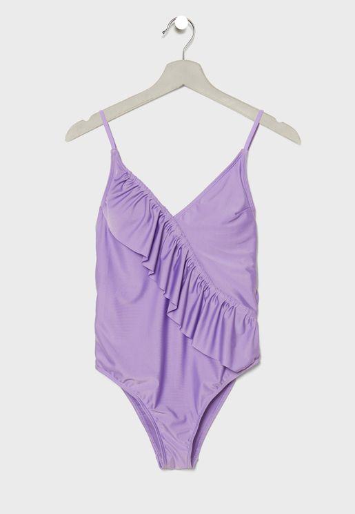 Ruffle Detail Swimsuit
