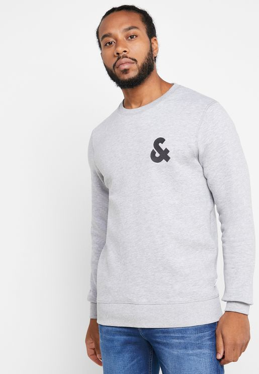 Chest Logo Regular Fit Sweatshirt