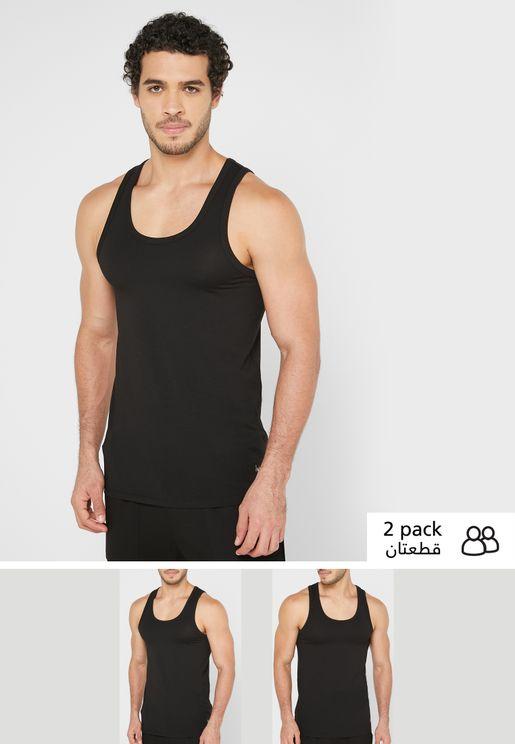 2 Pack Essential Vest