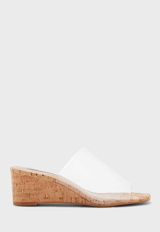 Devany Mid-Heel Sandal