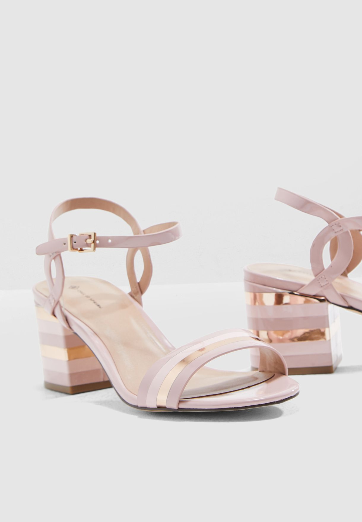 24aaaec5c Shop Call It Spring pink Coccinea Sandal COCCINEA680 for Women in ...
