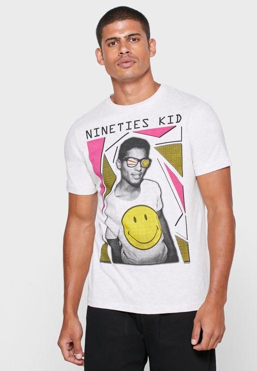 Nineties' Kid Crew Neck T-Shirt
