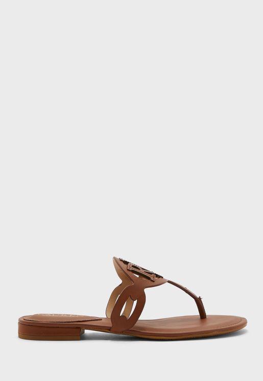 Japonki Low Heel Sandal
