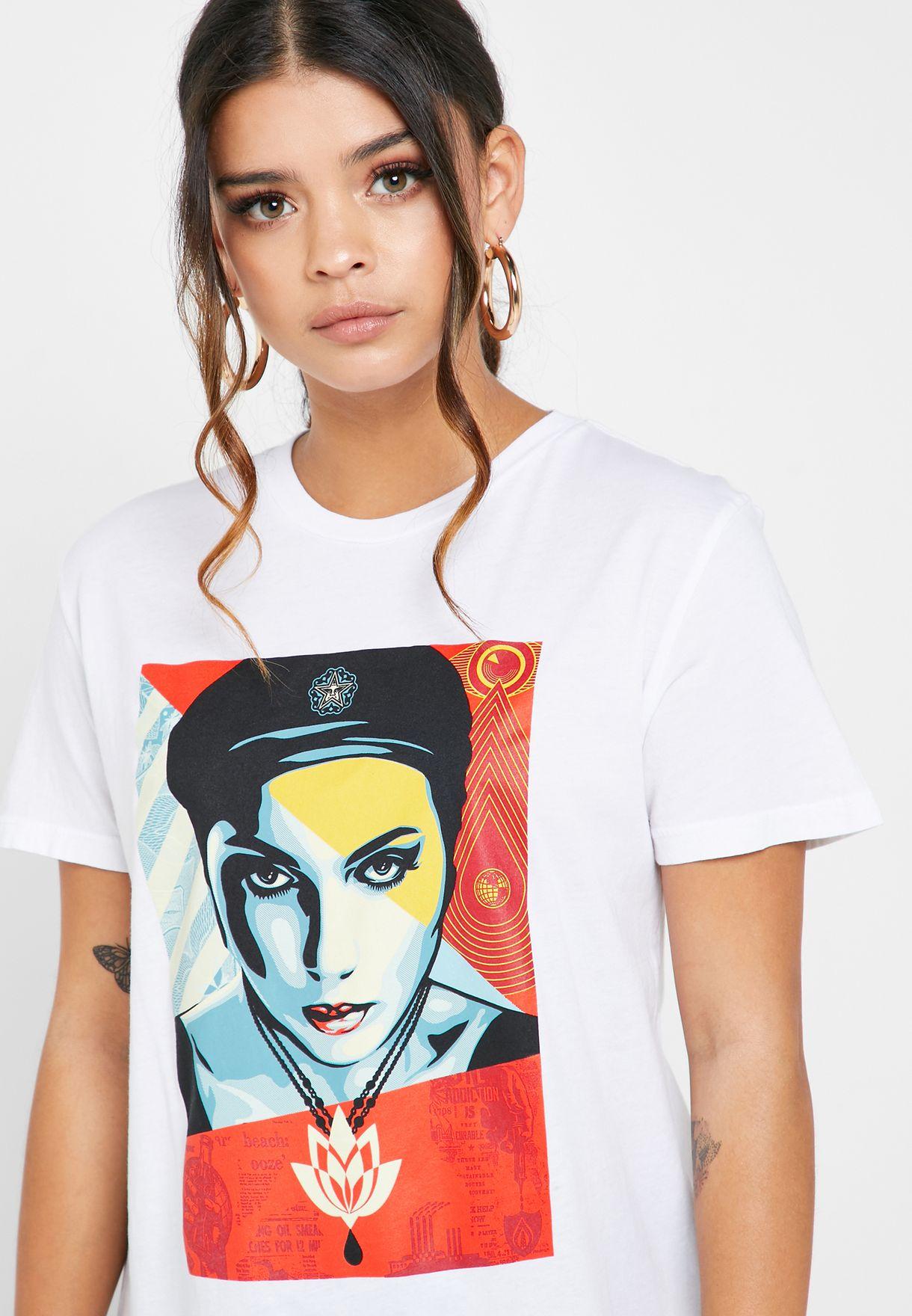Oil Lotus T-Shirt