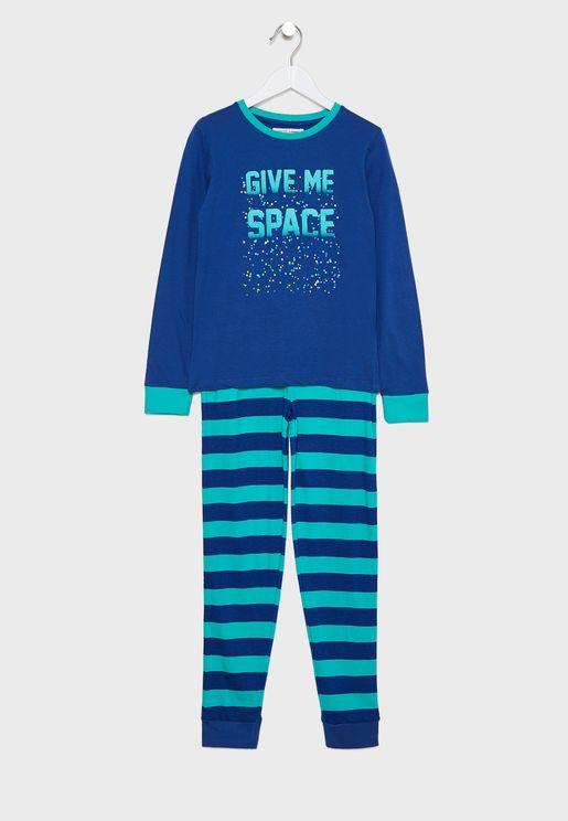 Teen Give Me Space Pyjama Set