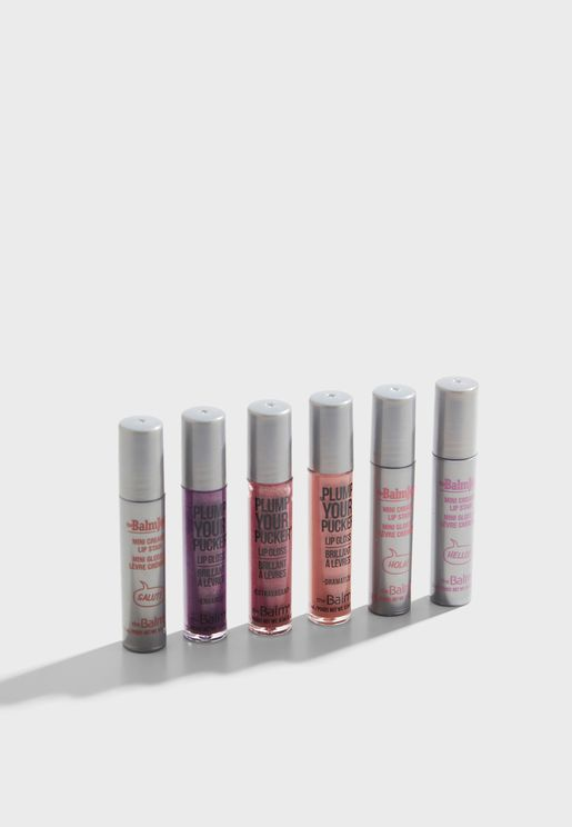 Set Of 6 Lip Gloss - Volume 1