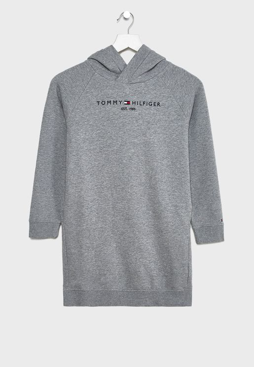 Teen Logo Hooded Dress