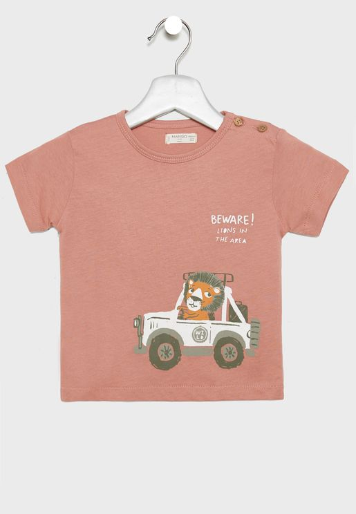 Infant Lion Graphic T-Shirt