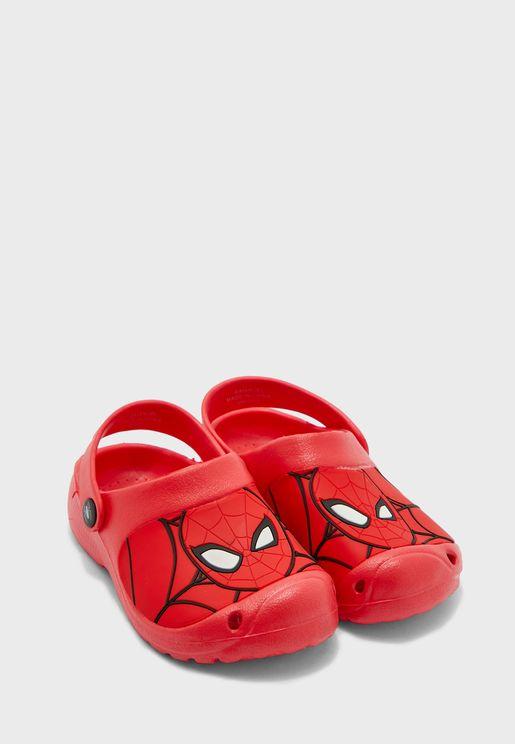 Kids Spiderman Clogs Sandal