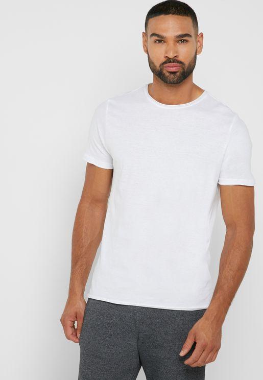 Roll Cuff T Shirt