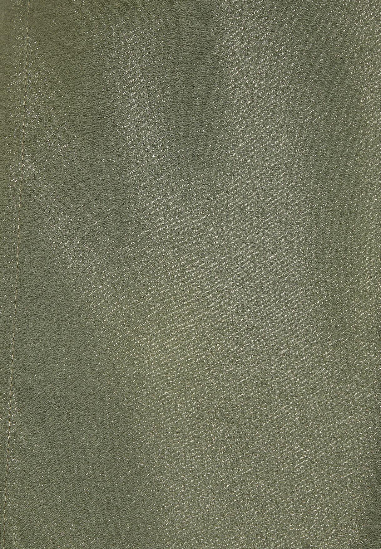 Glittered Crepe Shawl