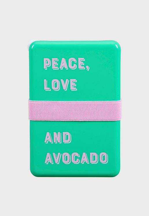 Avocado Lunch Box
