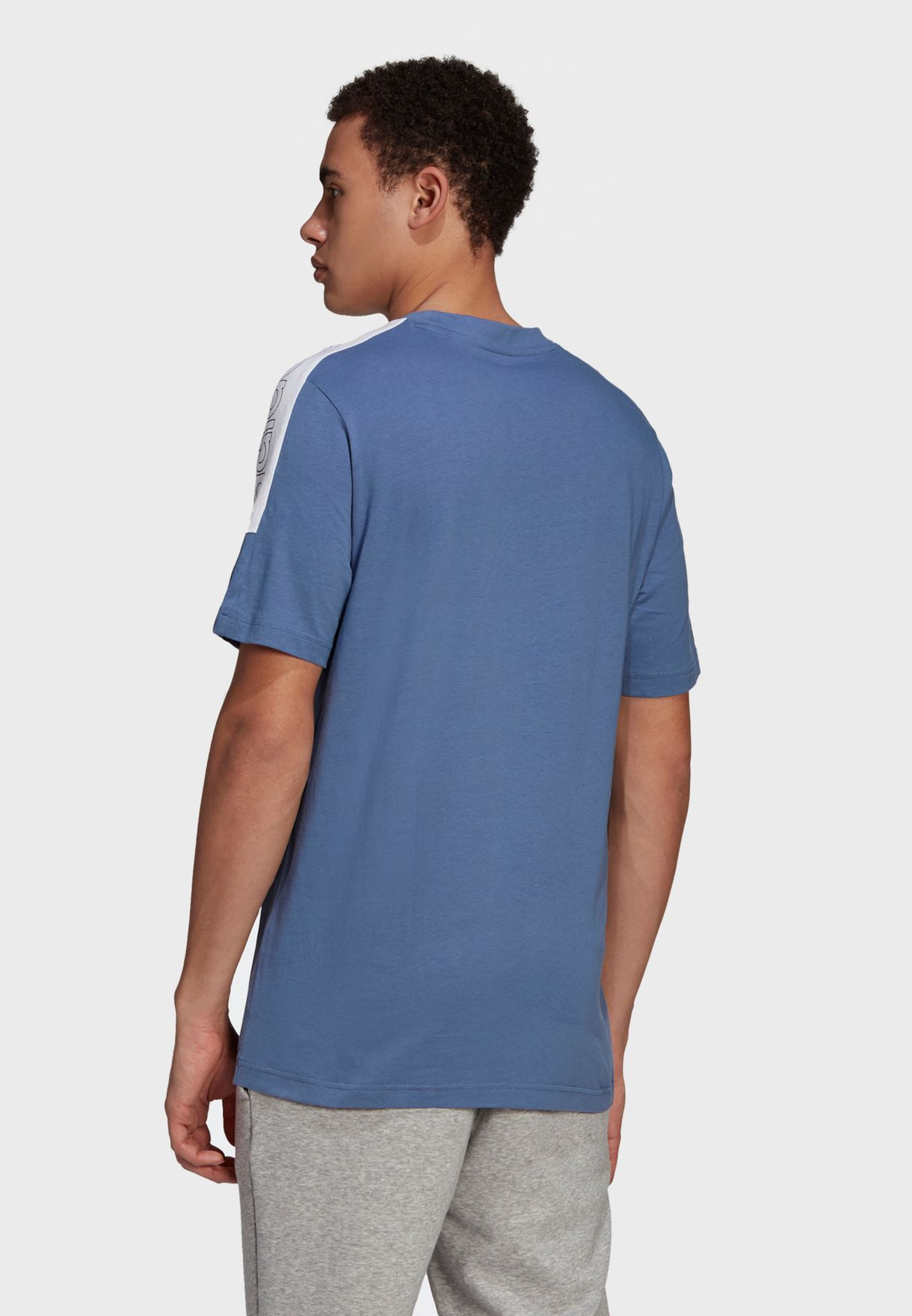 Linear Colour Block T-Shirt