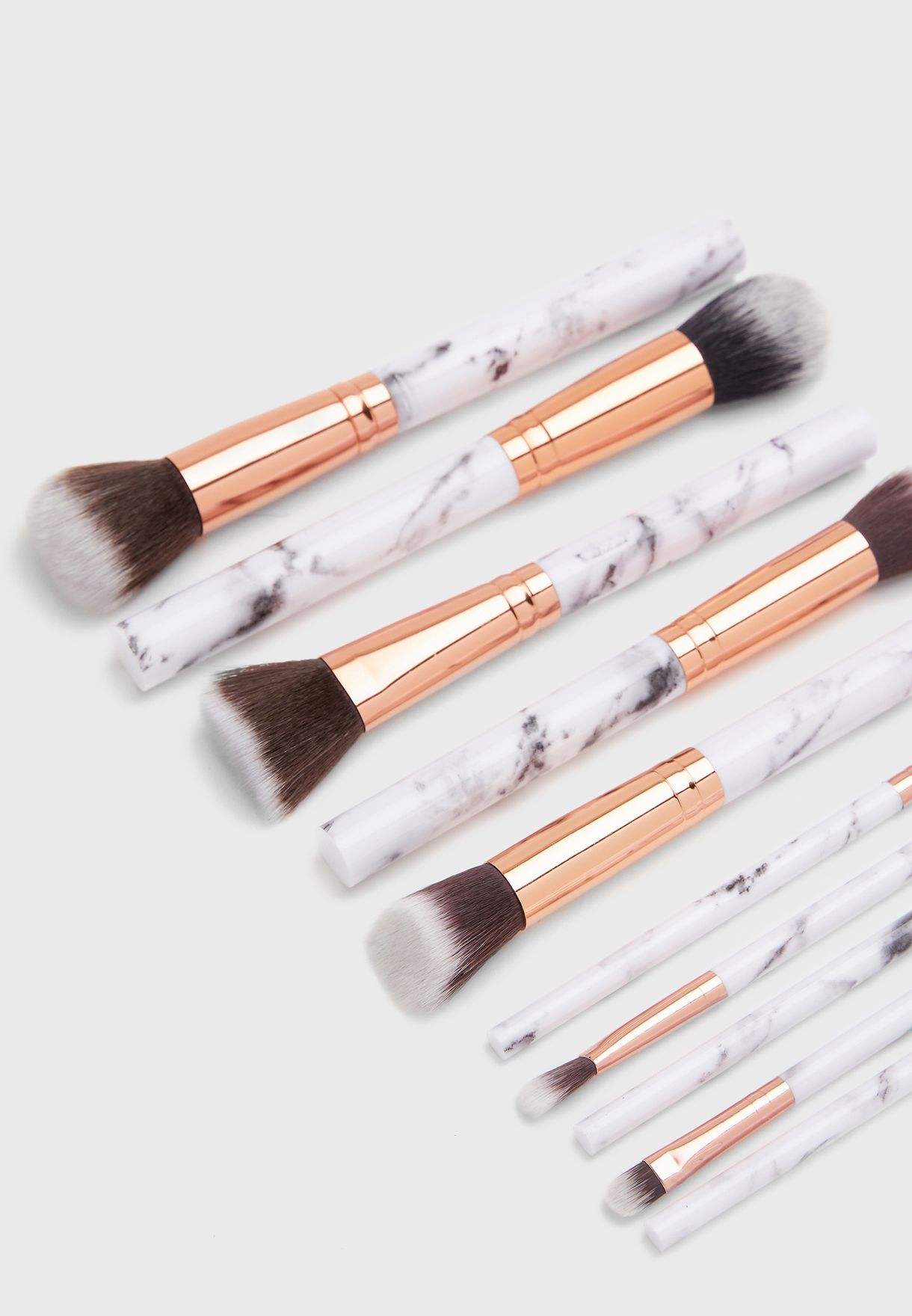 10 Pack Makeup Brush Set with Pouch