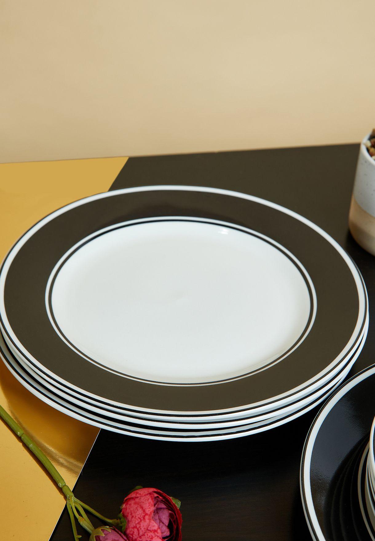 Avie Solar 12 Piece Dinner Set